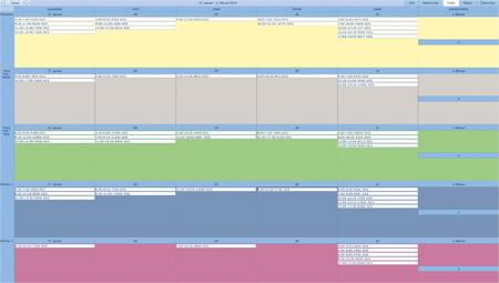 Prikaz izpisa podatkov sistema sledljivosti v proizvodnem procesu
