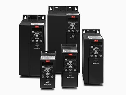Industrijski frekvencni pretvorniki majhnih dimenzij VLT Micro Drive FC51