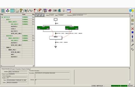 prikaz programske opreme ge batch execution