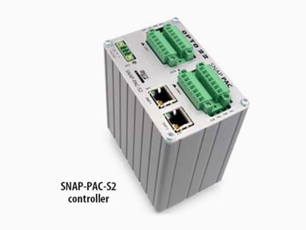 prikaz snap- pac s industrijskega krmilniškega procesorja