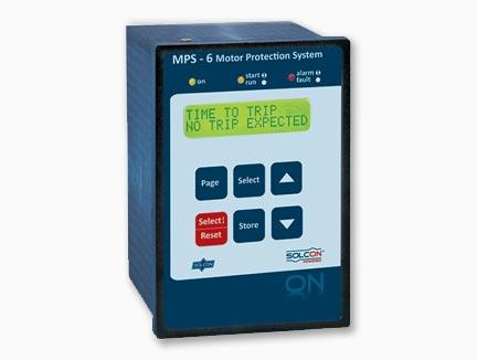 MPS-6 kompaktna digitalna zaščita pogonov