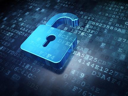 kljucavnica, ki varuje podatke